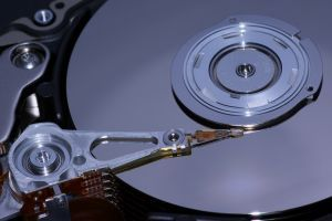 Inside a healthy Hard Disk Drive