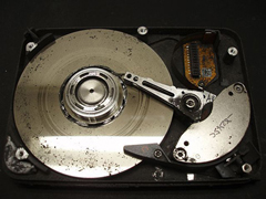 Don't use Data Recovery Software on a Hard Drive without checking if the Head is grinding away the internal Hard Disk Platter.